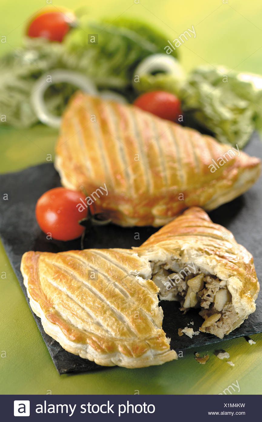 Cornish pasty - Stock Image