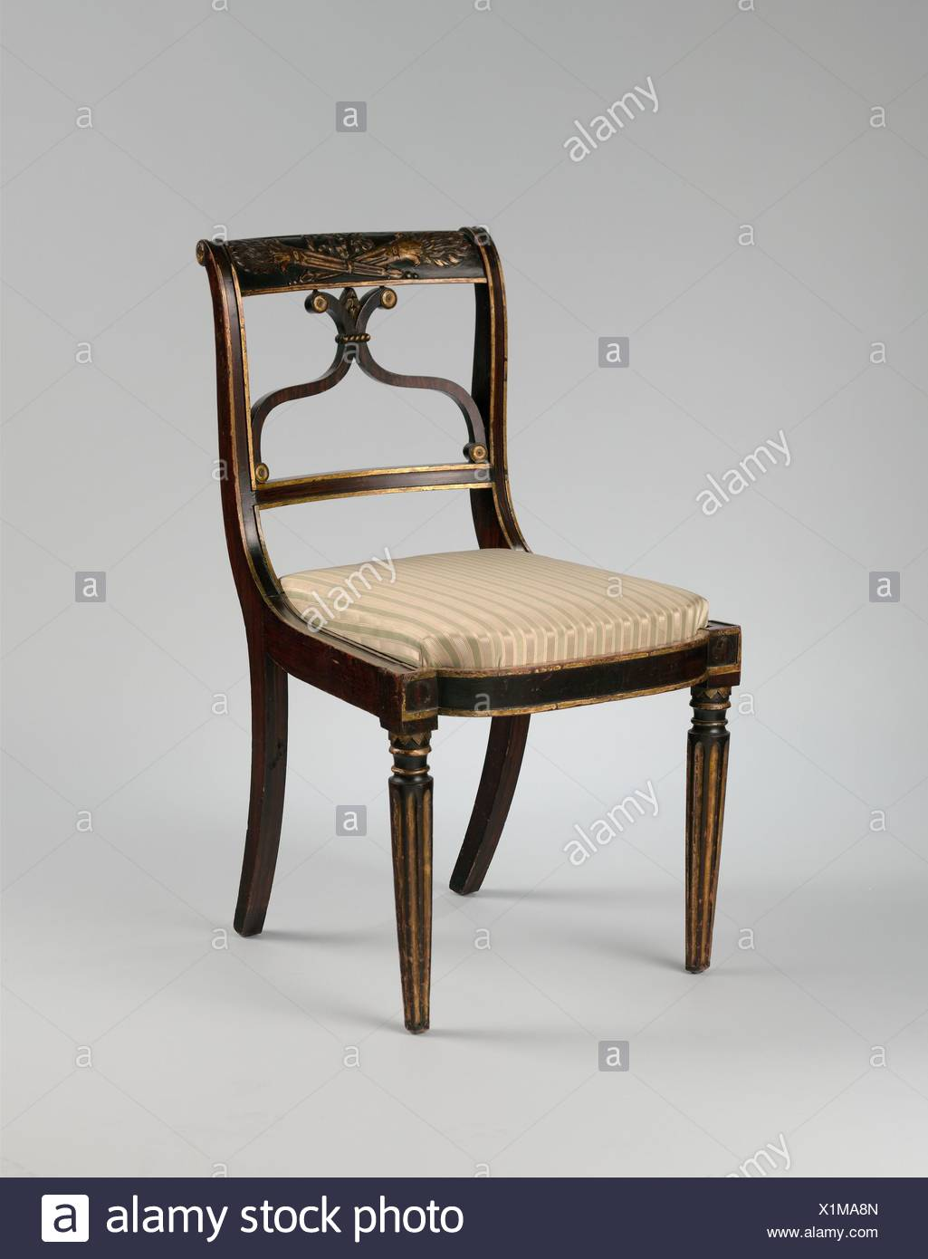 Superieur Side Chair. Date: 1810 20; Geography: Made In New York,
