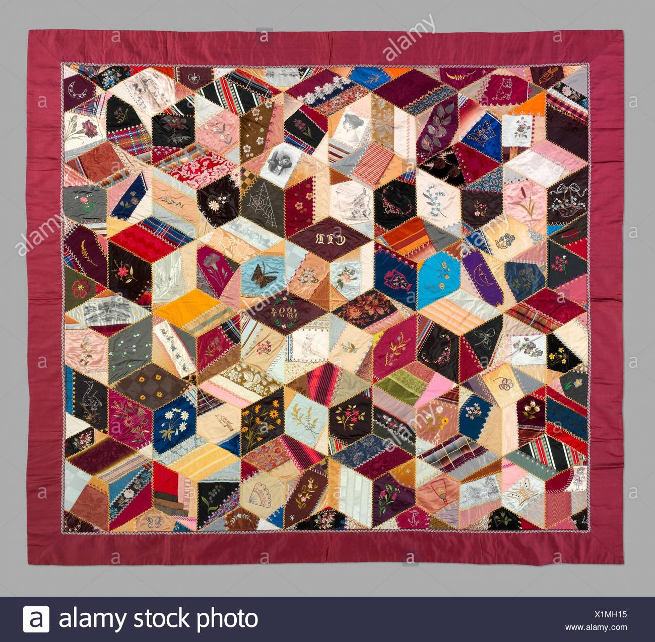 Quilt Crazy Pattern Maker Clara Louise Roscoe Born 1828 Date