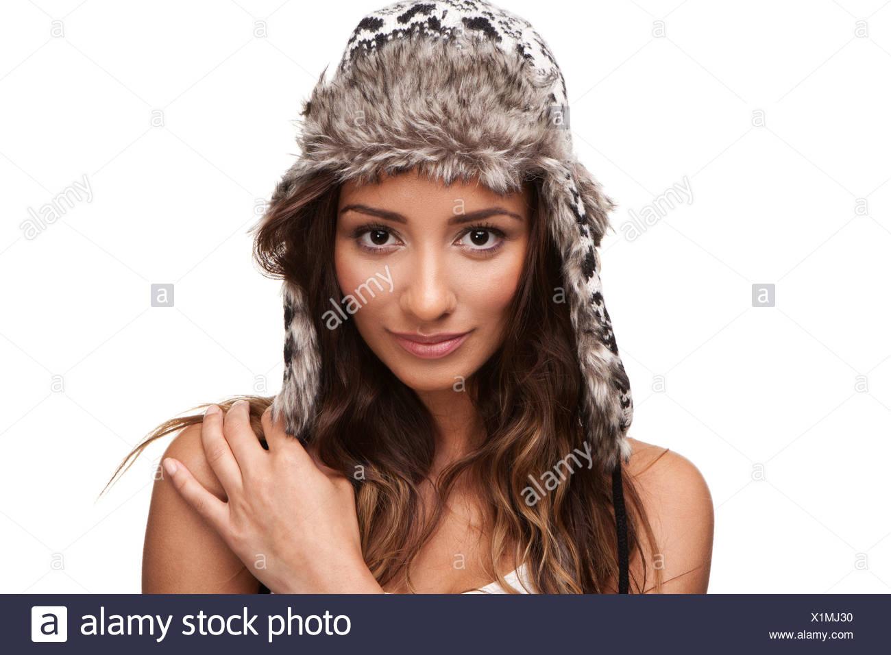 woman beautiful beauteously - Stock Image