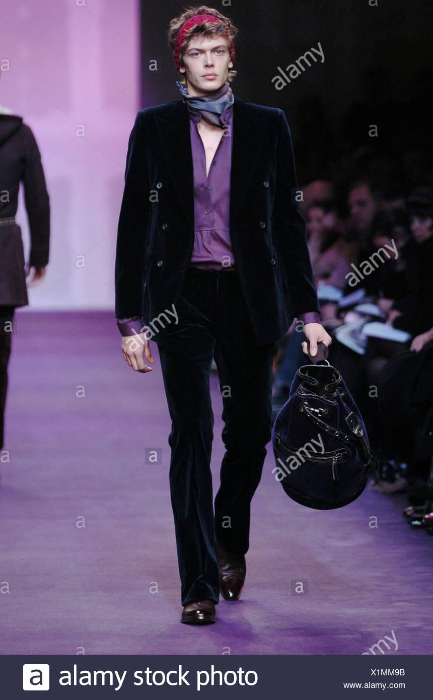 b8fb5bbe3271 Miu Miu Milan Menswear Ready to Wear Autumn Winter Menswear flirt  femininity on the catwalks of