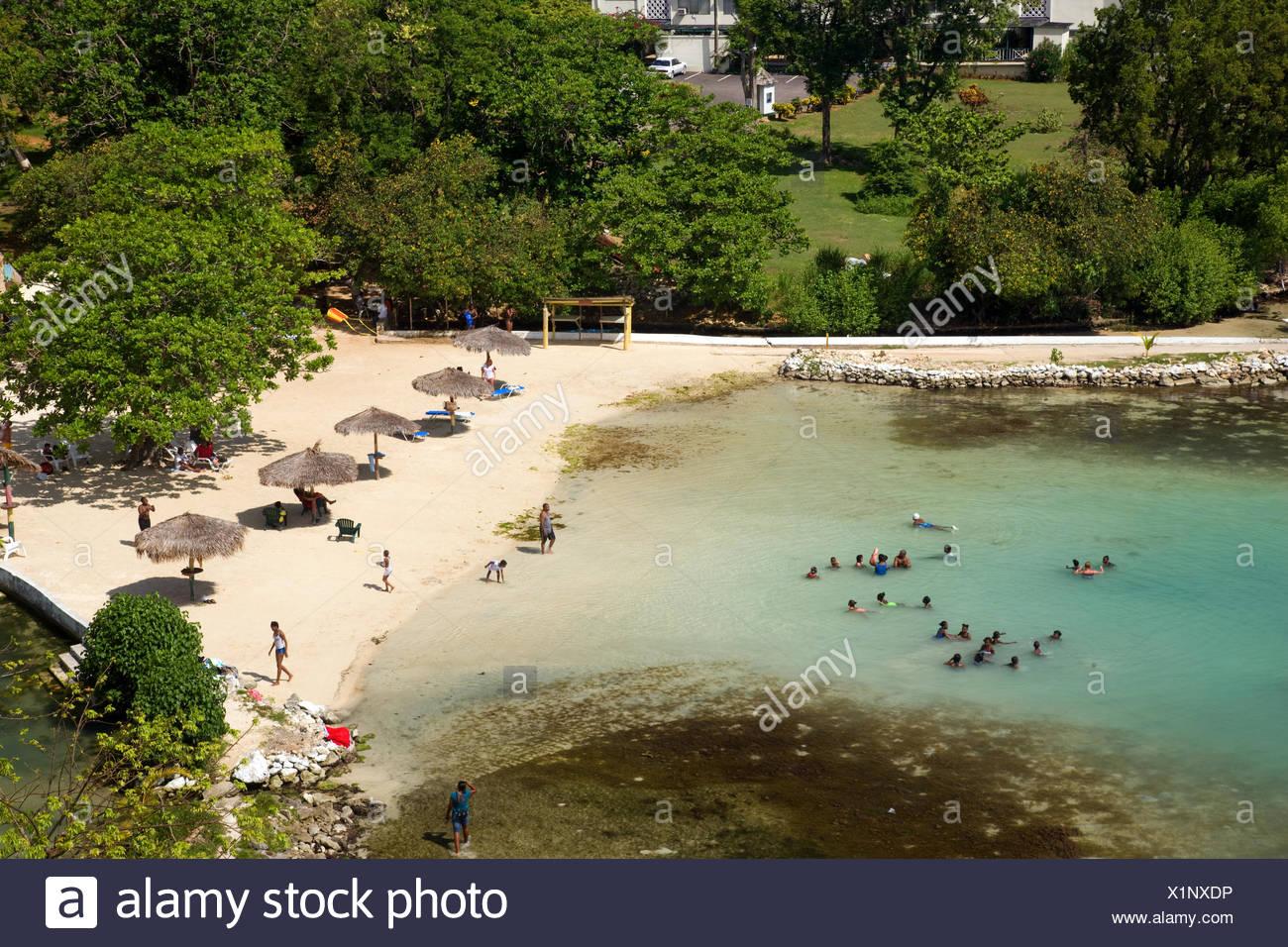 Mahogany Beach, Ocho Rios, Jamaica - Stock Image