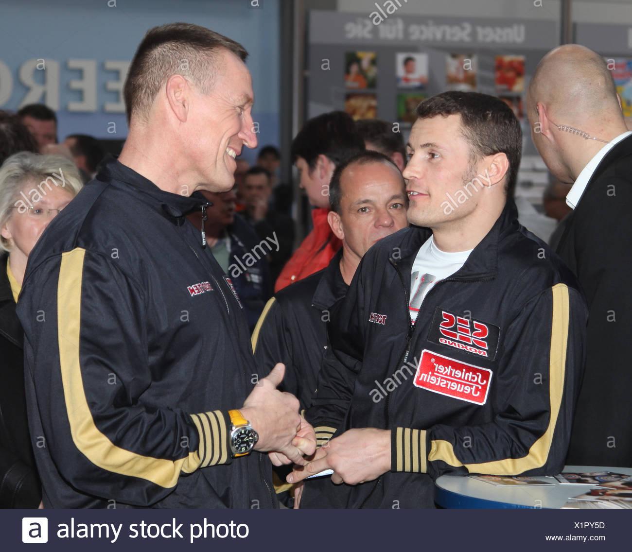 Boxer Robert Stieglitz (Team SES Boxing) Stock Photo