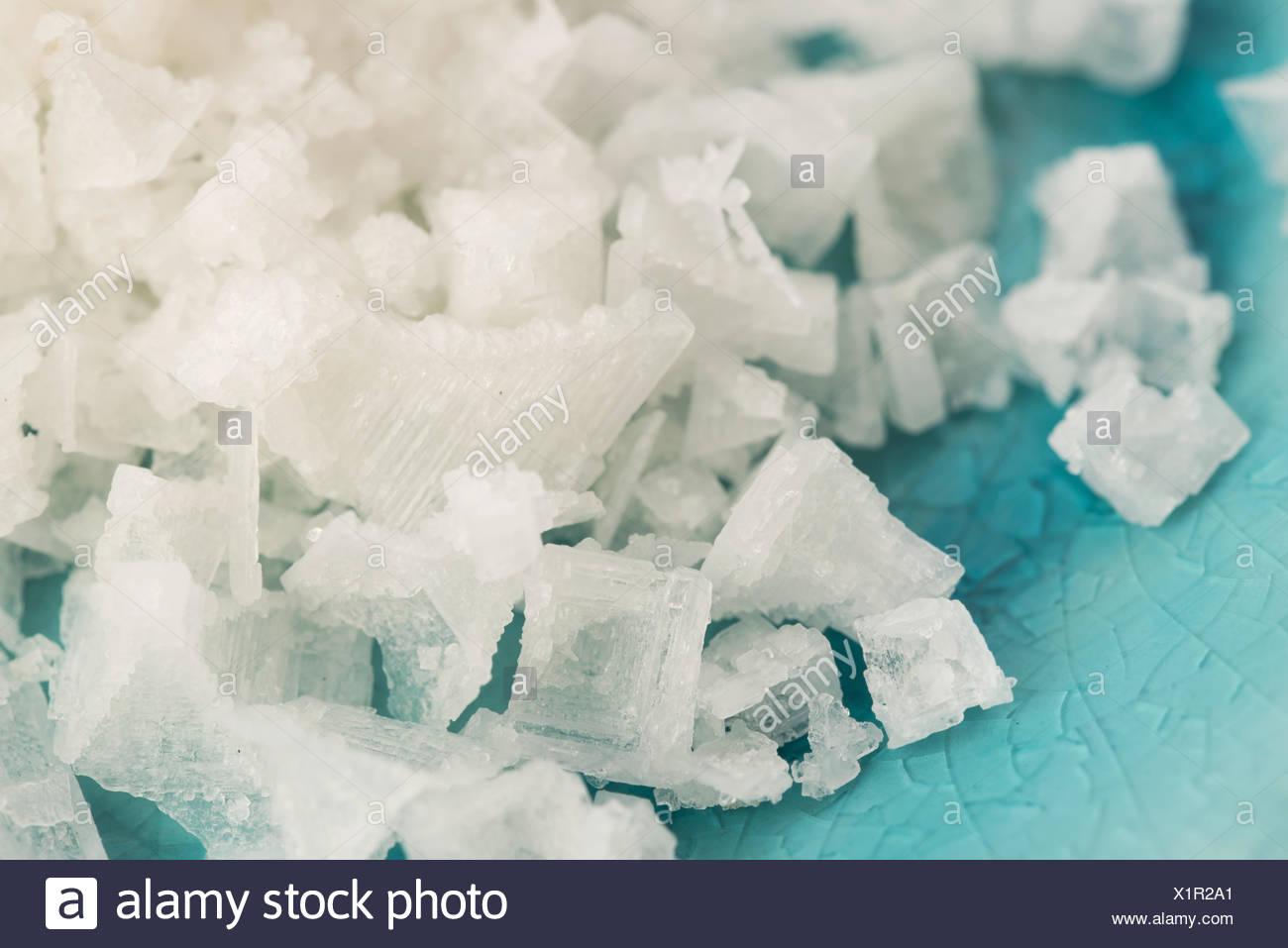 Pyramid Salt Fleur De Sel Stock Photo 276487289 Alamy