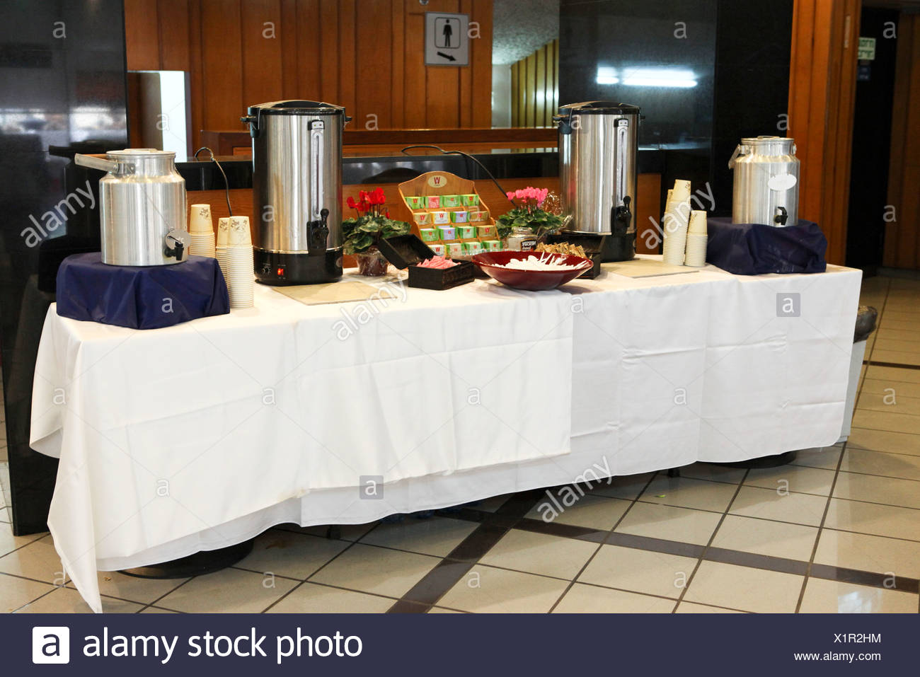 Superieur Tea And Coffee Self Service Buffet Table