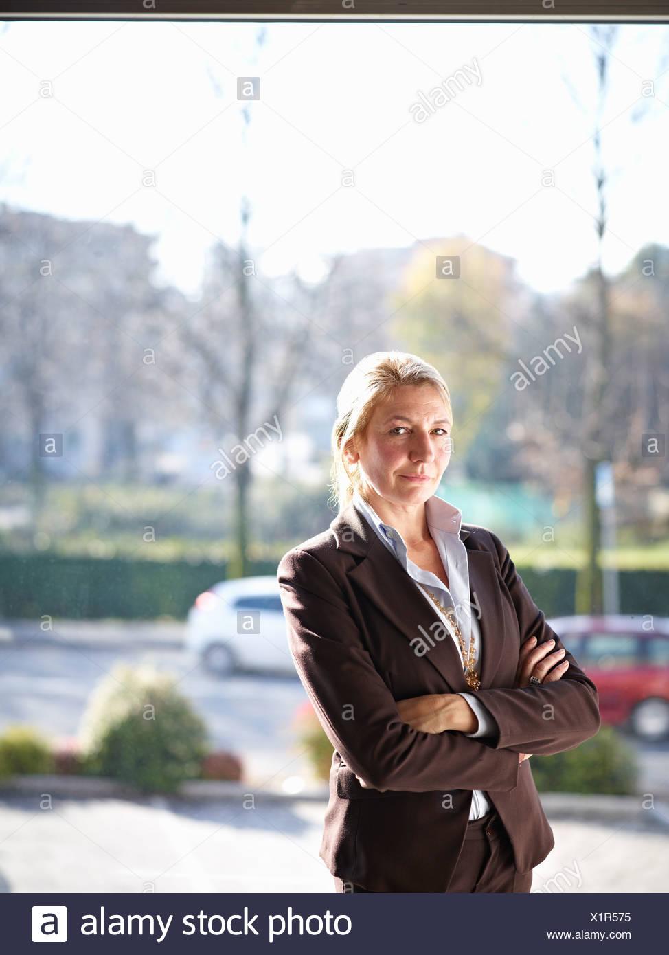Buisness Woman - Stock Image