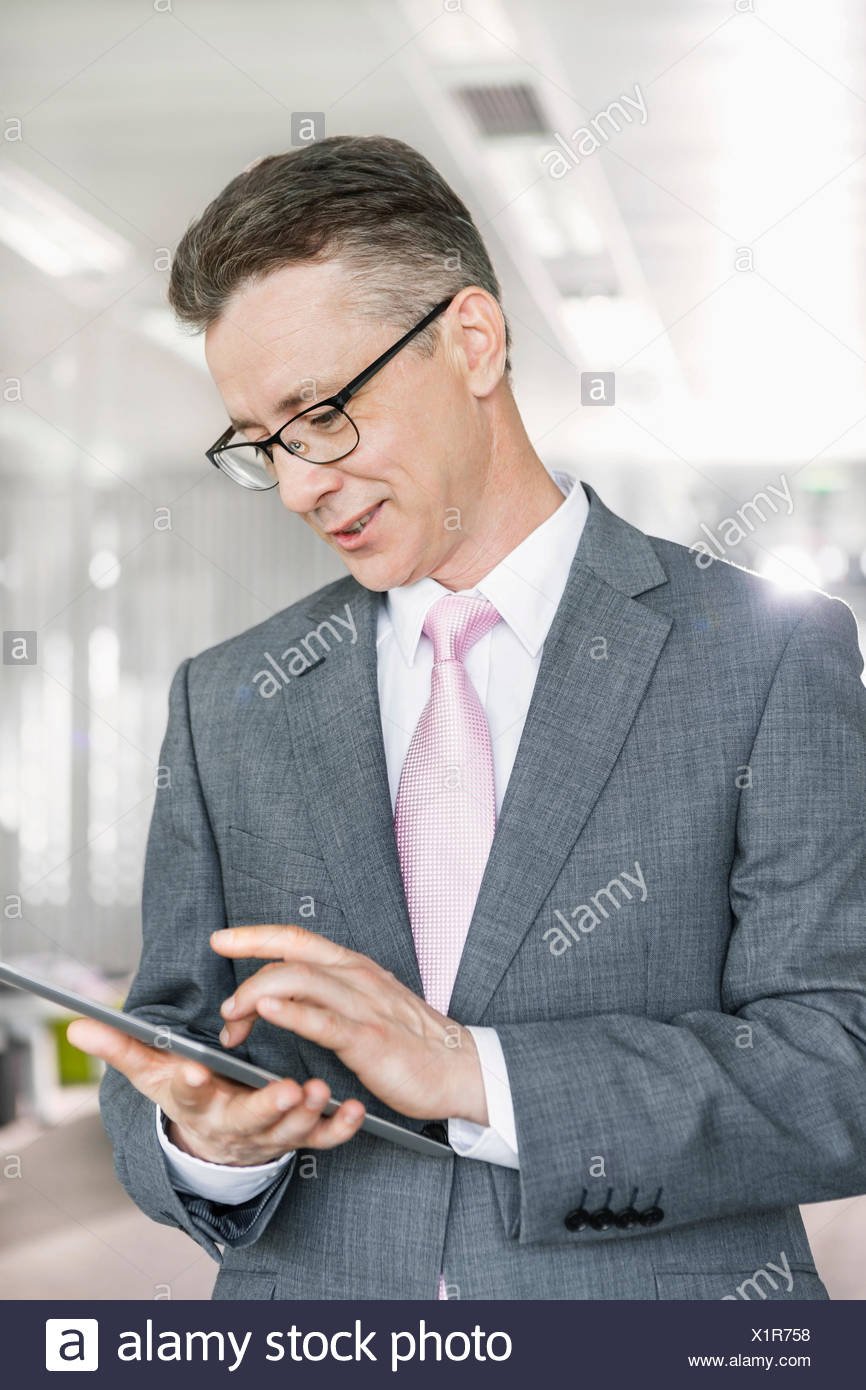 Business people talking during coffee break - Stock Image