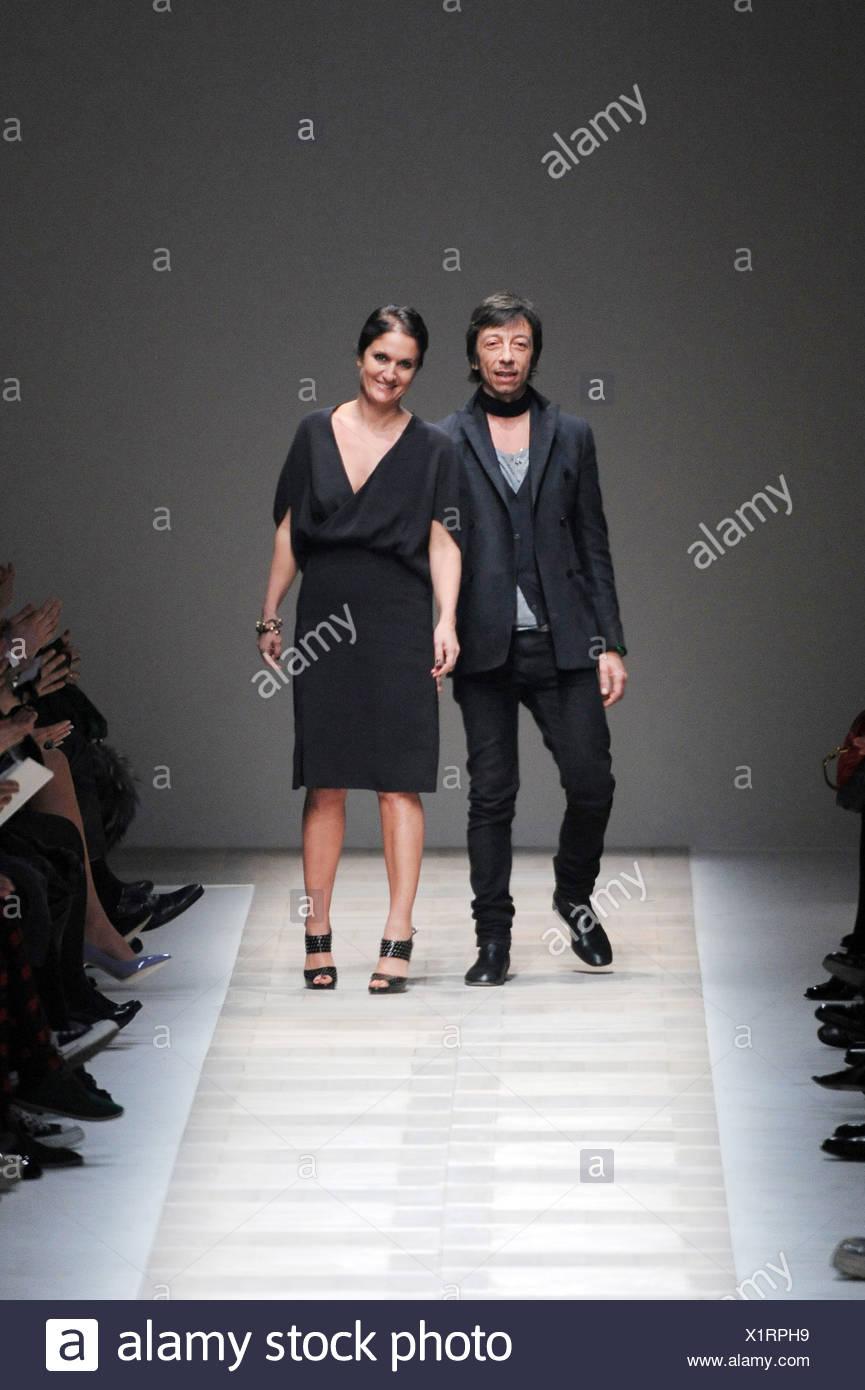 bf5978183b758 Valentino Paris Ready to Wear Autumn Winter Creative directors Maria Grazia  Chiuri (right) and