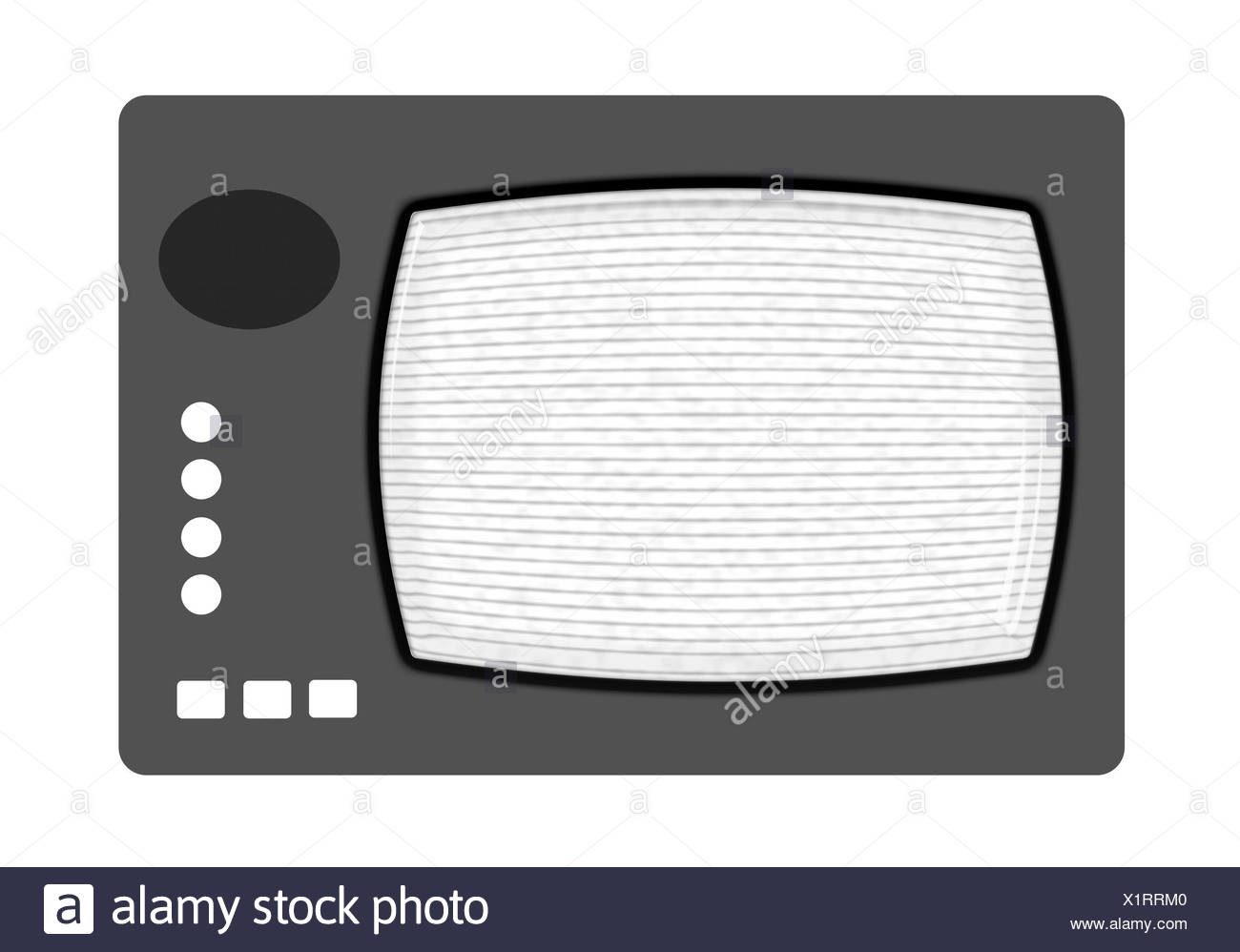 antenna, screen, digital, television, tv, televisions, picture tube, image Stock Photo