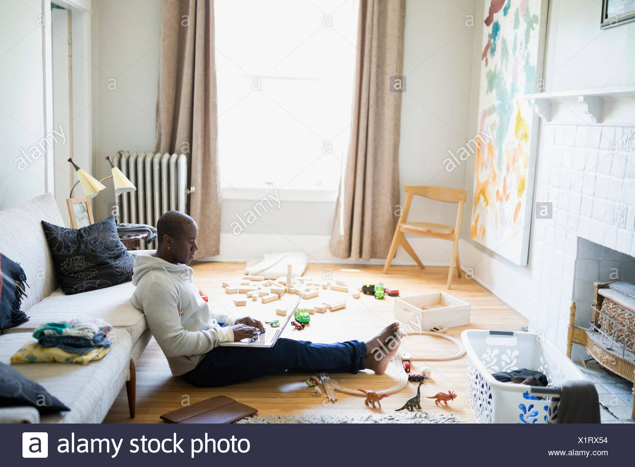 Messy Living Room Stock Photos & Messy Living Room Stock Images - Alamy