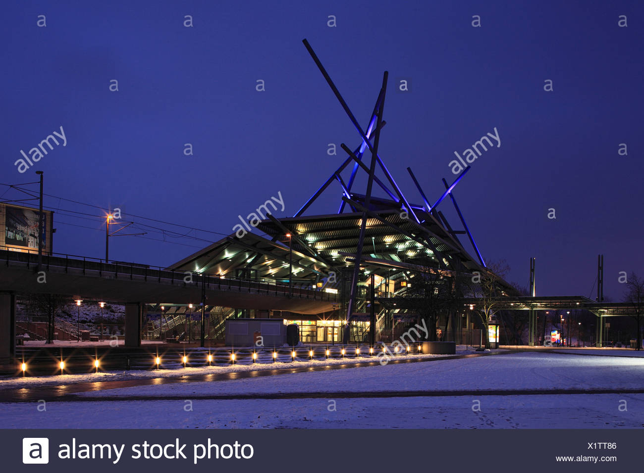 Germany, Europe, Oberhausen, Ruhr area, Lower Rhine, North Rhine-Westphalia, Germany, Europe, Oberhausen-Neue Mitte, shopping ce - Stock Image