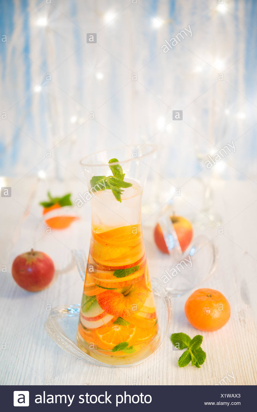 obst getränk - Stock Image