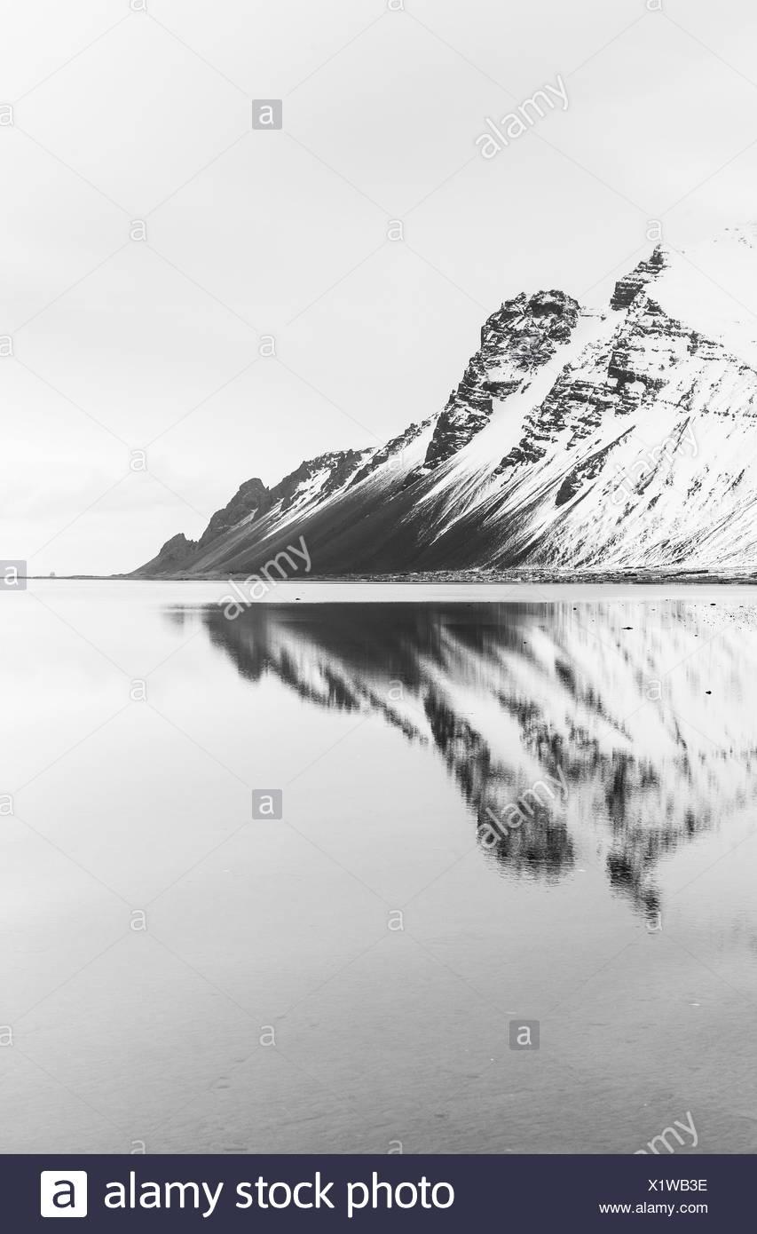 Stokksnes península - Hofn Iceland - Stock Image