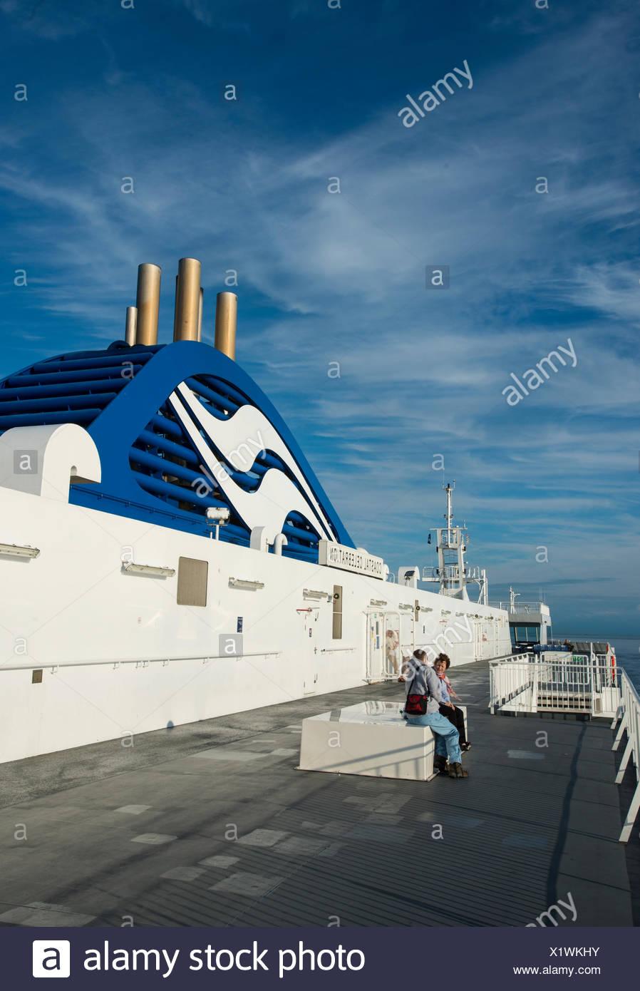 BC Ferry, Coastal Celebration, British Columbia, Canada - Stock Image