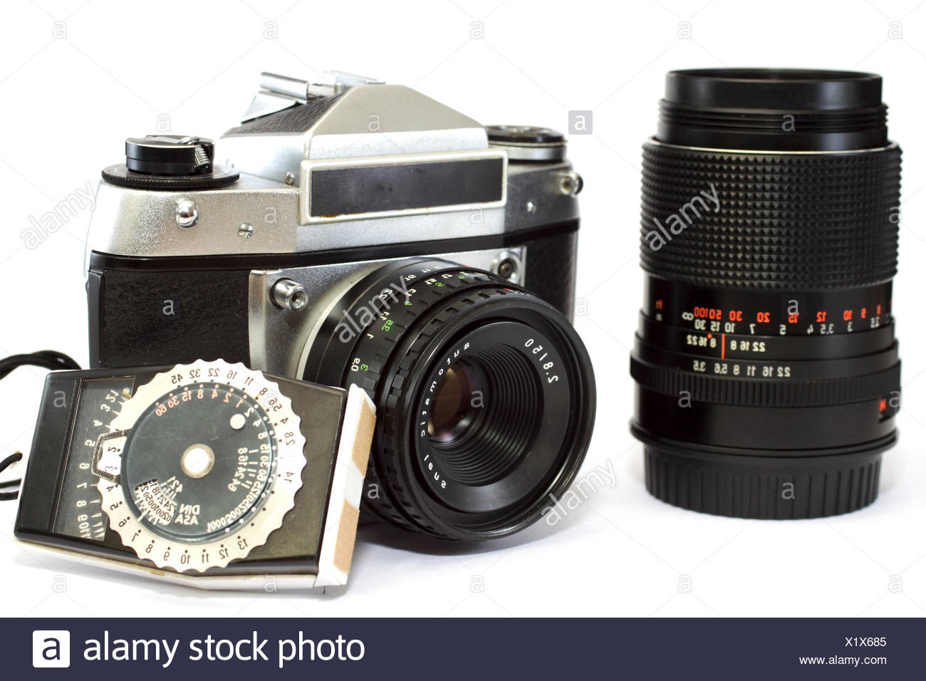 Analog SLR - Stock Image