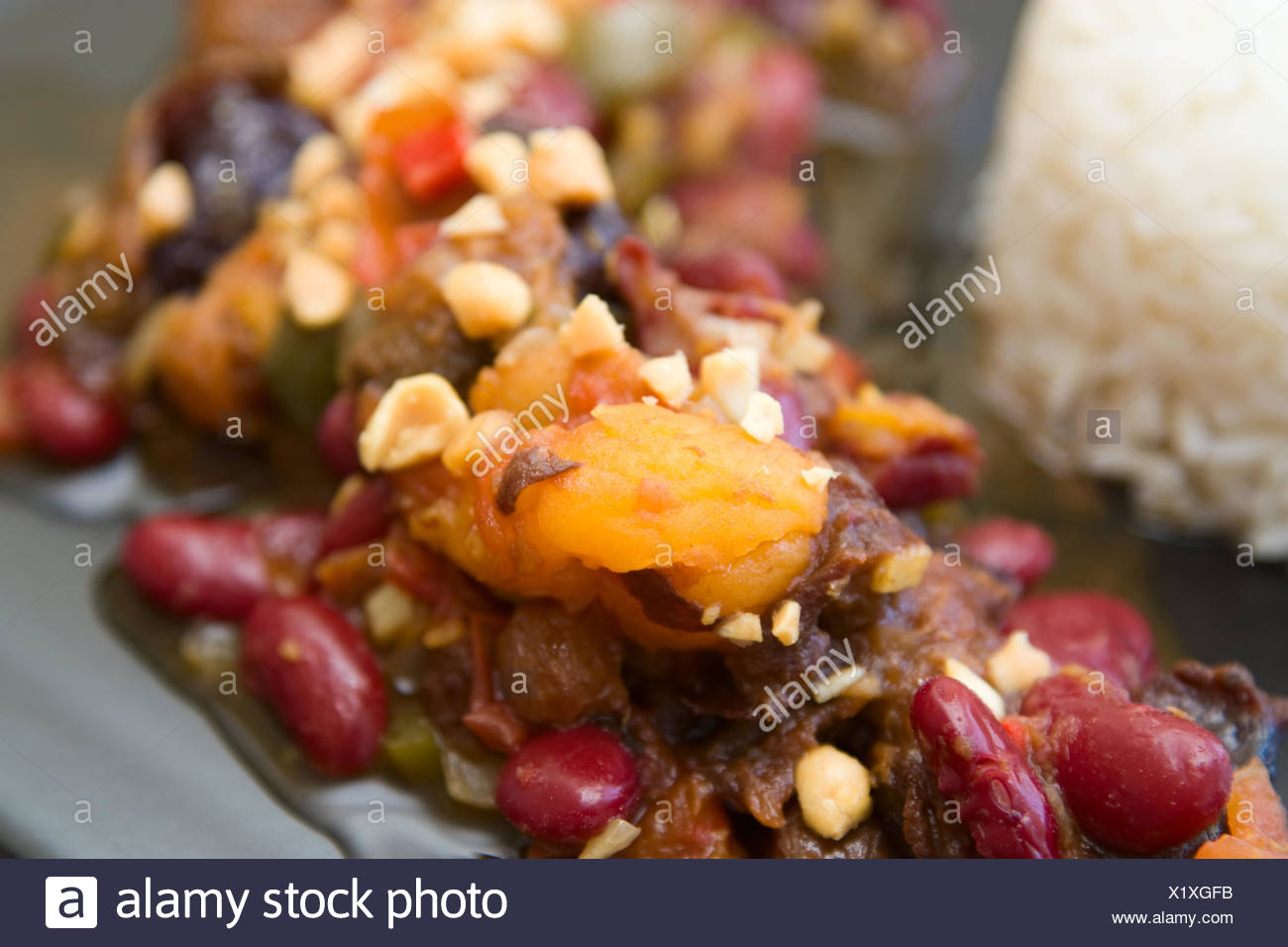 Curry aus Südafrika - South African Curry - Stock Image