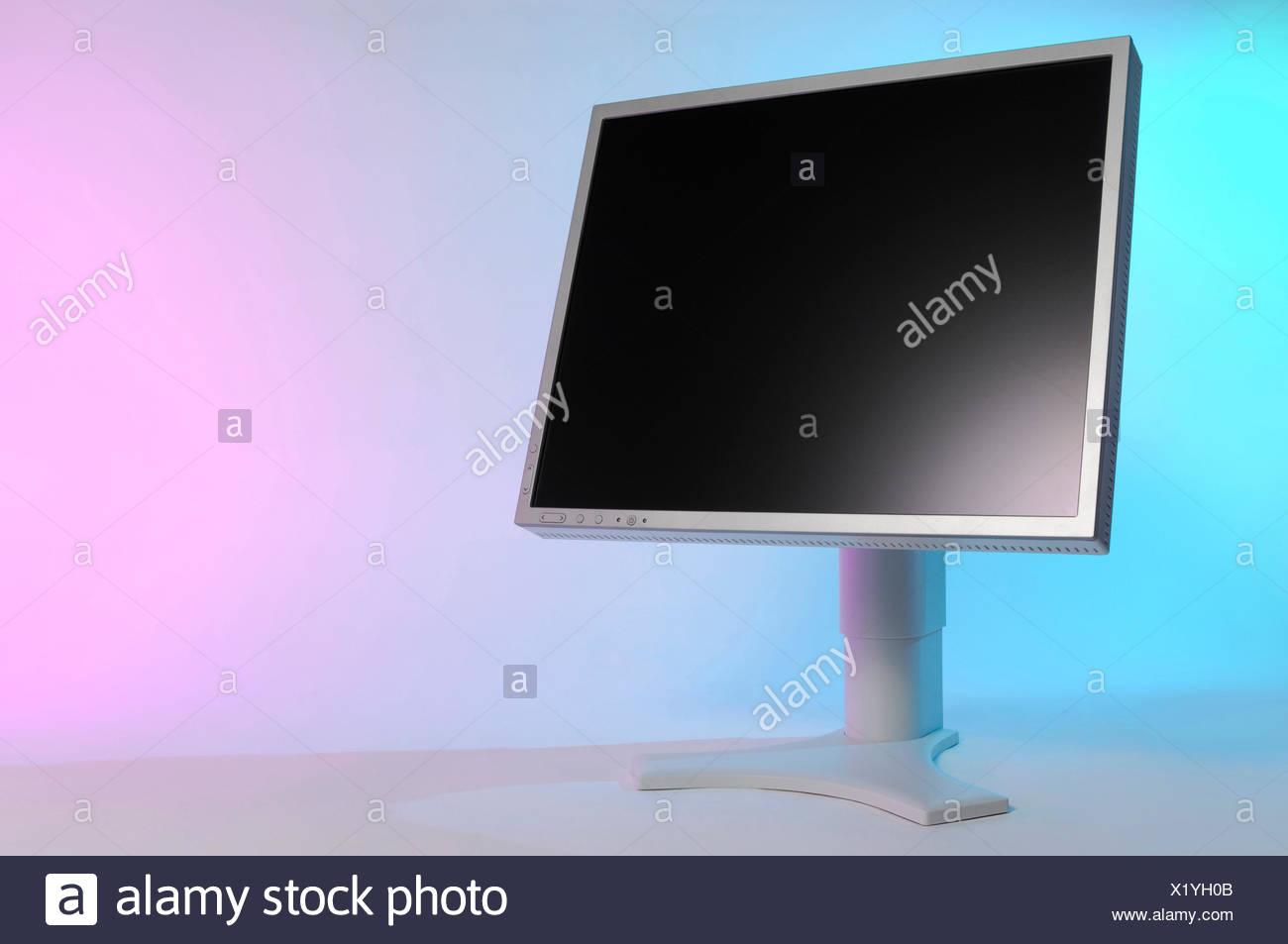 LCD monitor - Stock Image