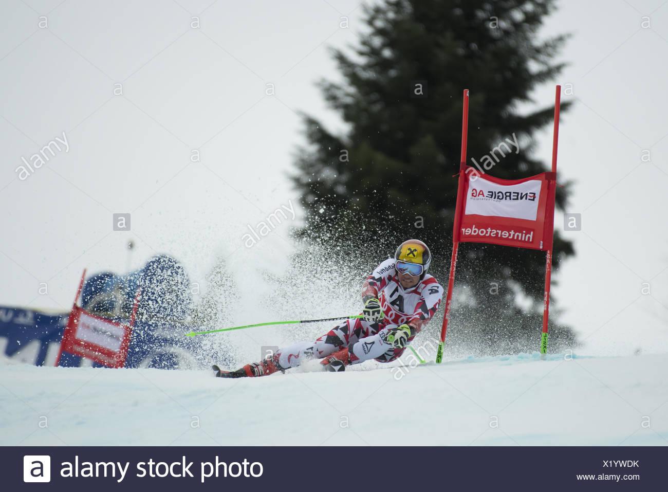 Marcel Hirscher, Austria - Stock Image