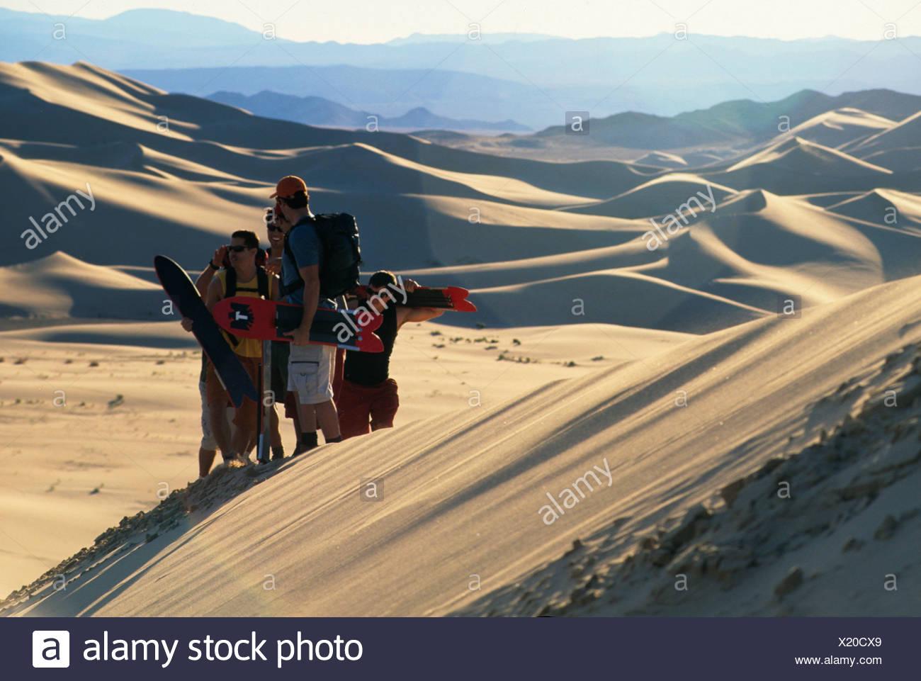 Sandboarding SPORTS - Stock Image