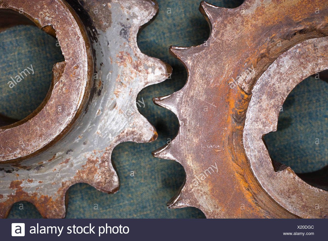 Rusty wheels - Stock Image