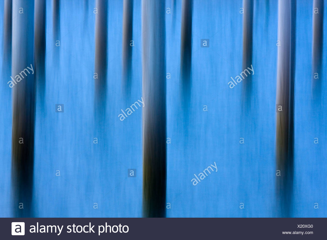 Abstract image of piers in water Stock Photo