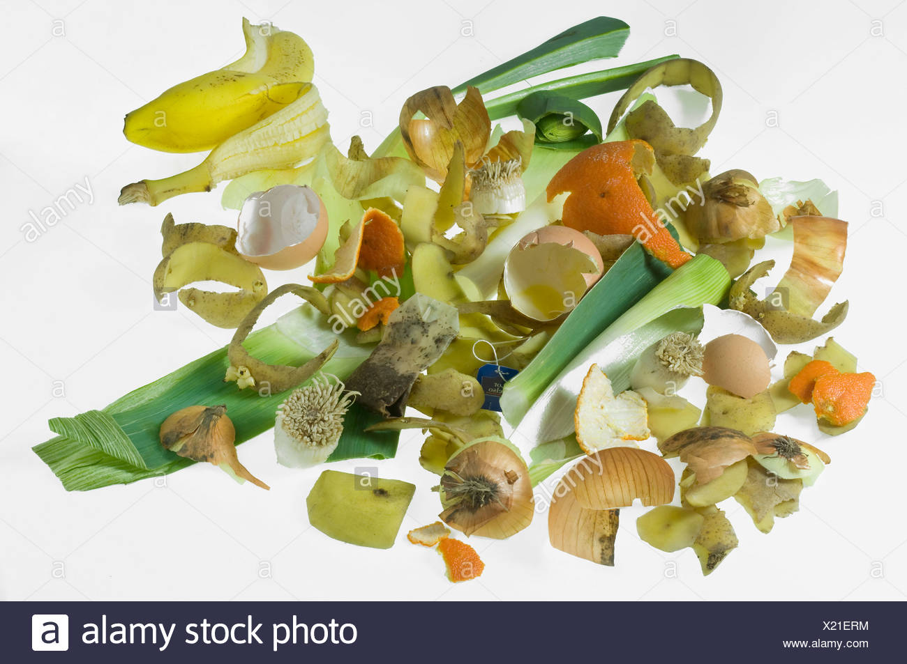 Organic waste - Stock Image