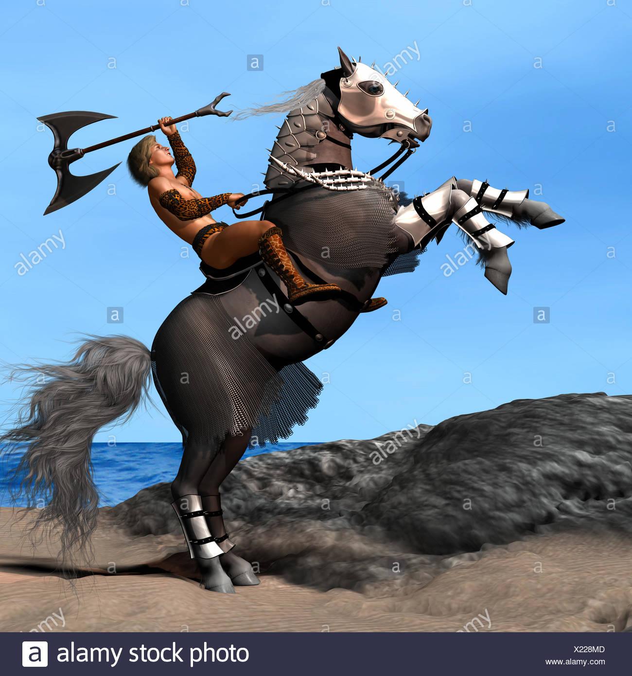 War Horse 01 - Stock Image