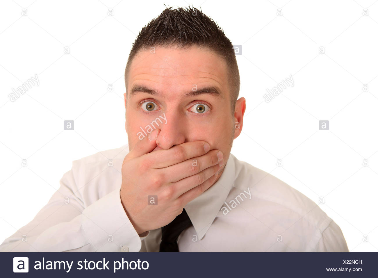 oh no - Stock Image