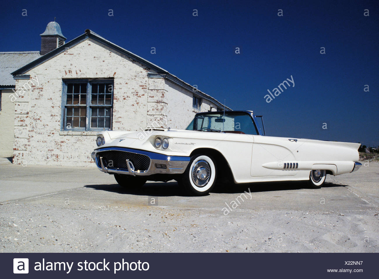 Ford Thunderbird, Long Beach - Stock Image