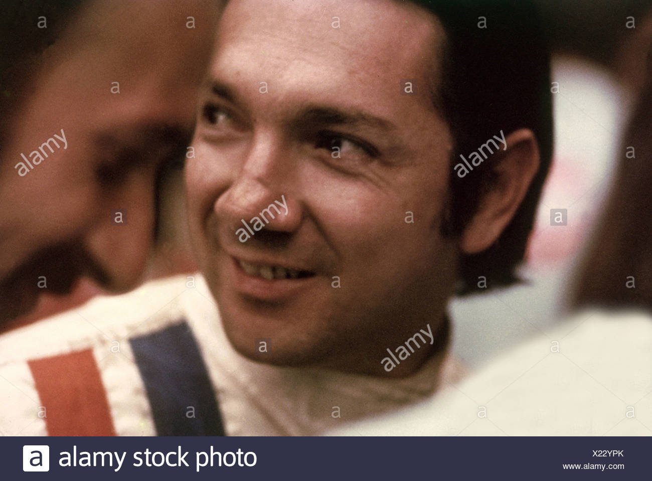 Rodriguez, Pedro, 18.1.1940 - 11.7.1971, Mexican athlete, ( automobile racer), portrait, motor-racing circuit, Monza, 1970, Additional-Rights-Clearances-NA - Stock Image