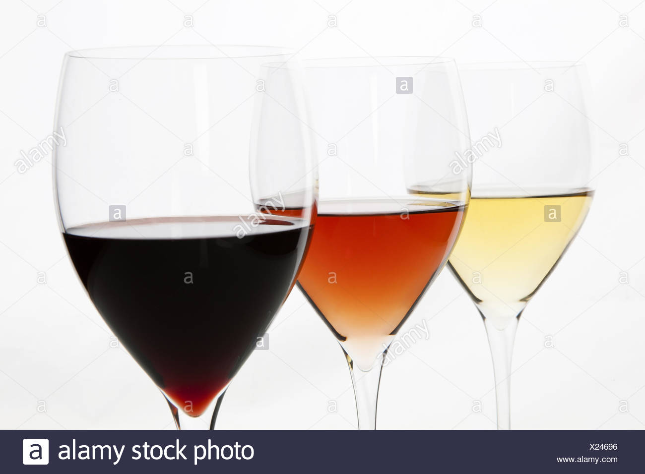 Three Colors Of Wine Red Rose And White Stock Photo 276687970 Alamy