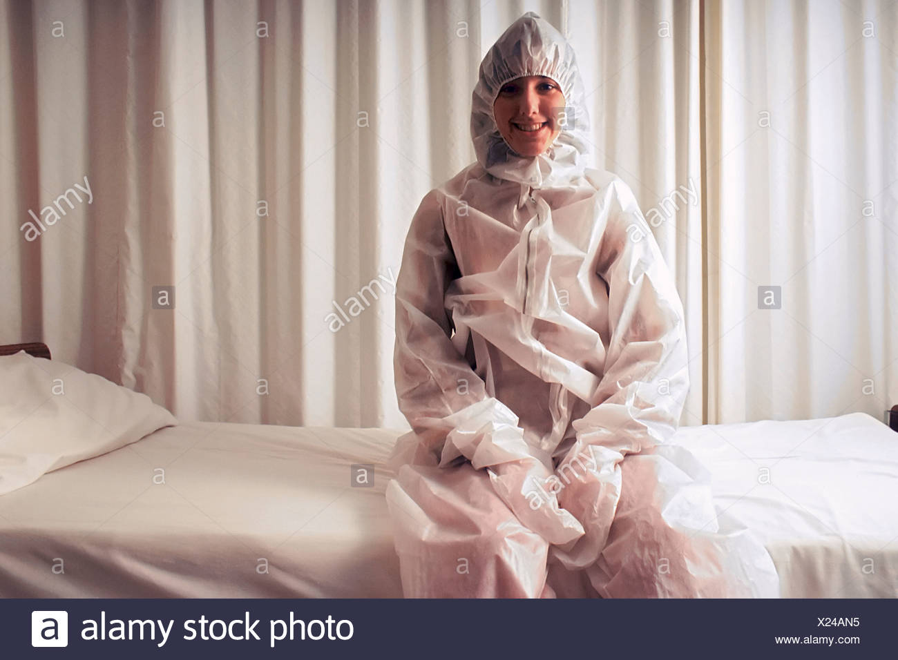 Whole body hyperthermia is method raise patient's body temperature treatment advanced cancer. This technique is based on - Stock Image