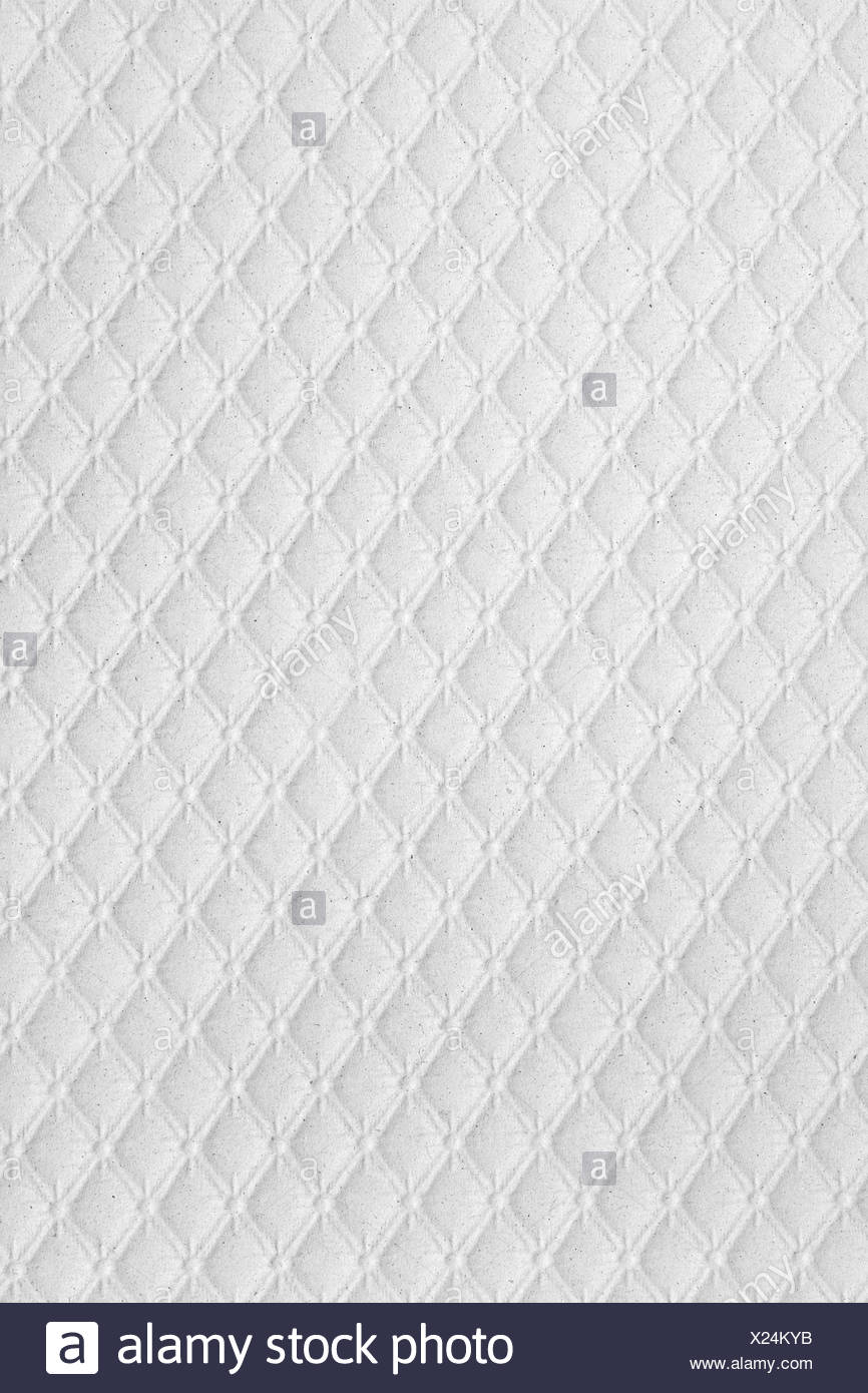 Colourless paper wallpaper - Stock Image