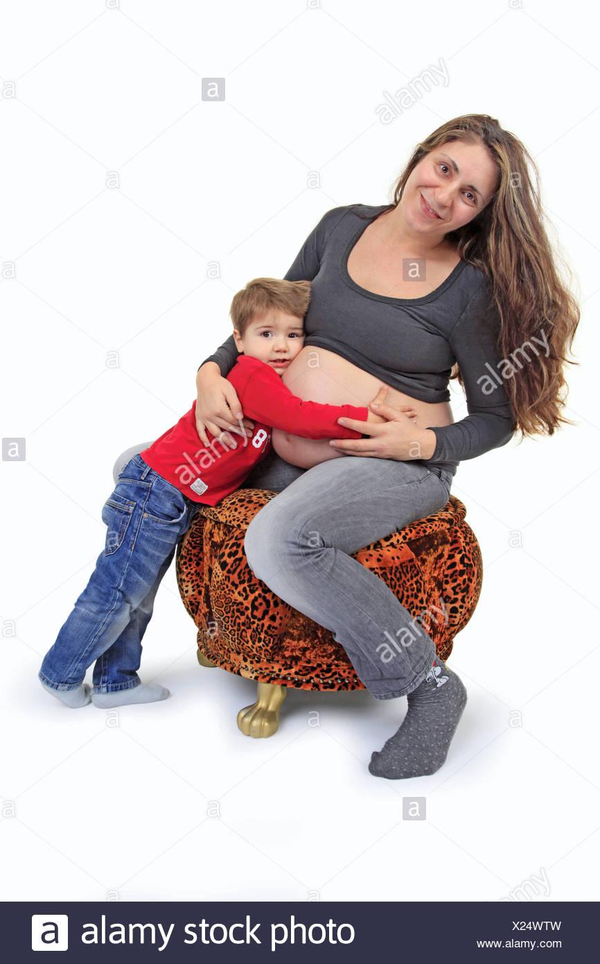 Bilder von nackten Müttern