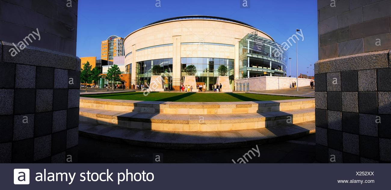 Waterfront Hall, Belfast, Co Antrim, Ireland; 20Th Century Concert Hall - Stock Image