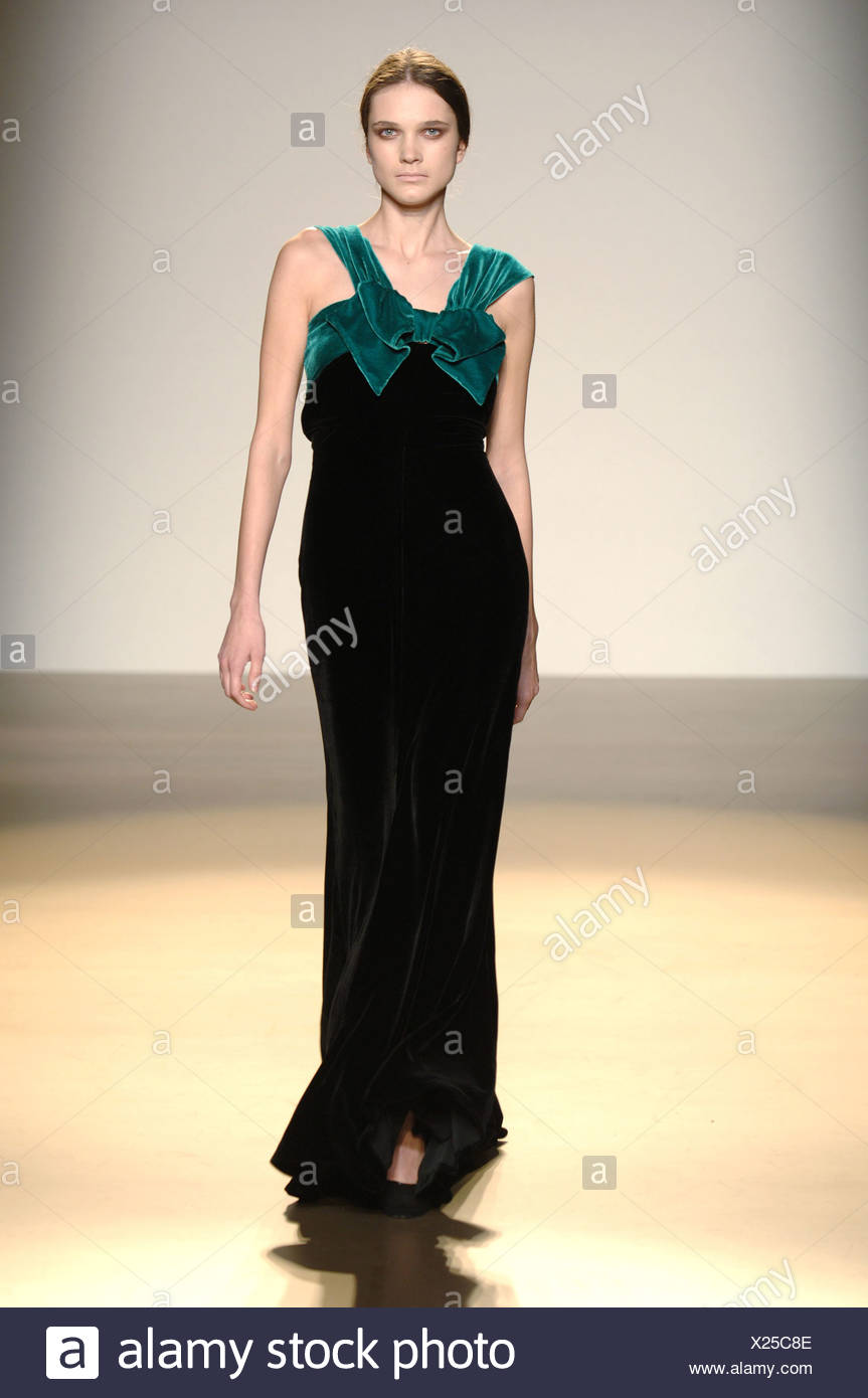 Wearing A Full Length Black Velvet Gown Stock Photos & Wearing A ...