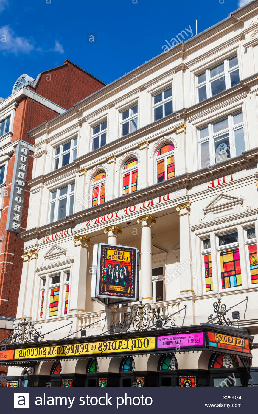 England, London, Soho, The Duke of York's Theatre - Stock Image
