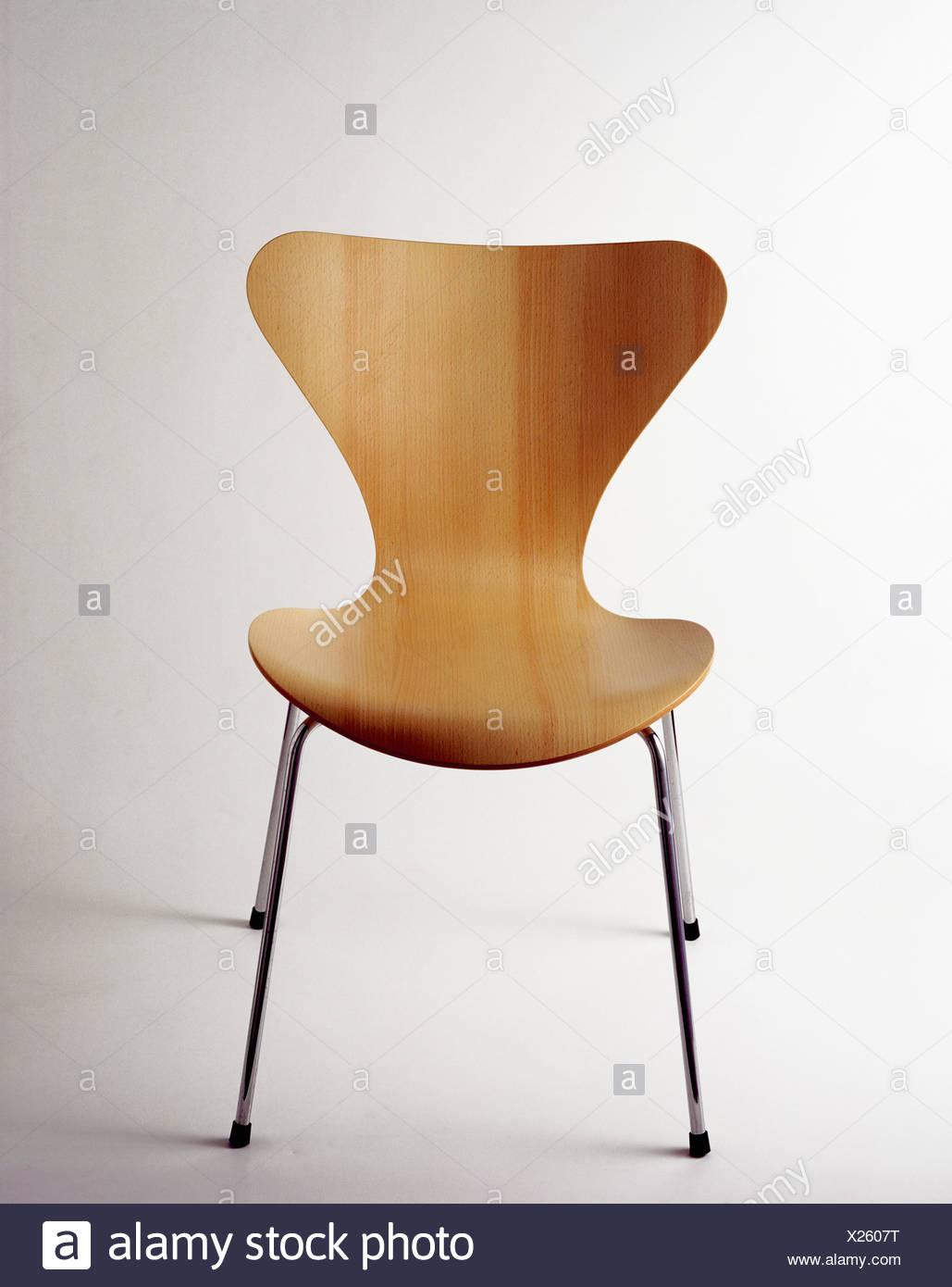 Close Up Of Laminated Veneer Arne Jacobsen Ant Chair