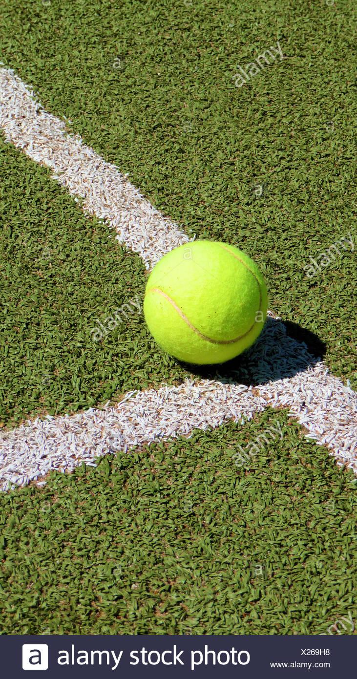 field sport tennis - Stock Image