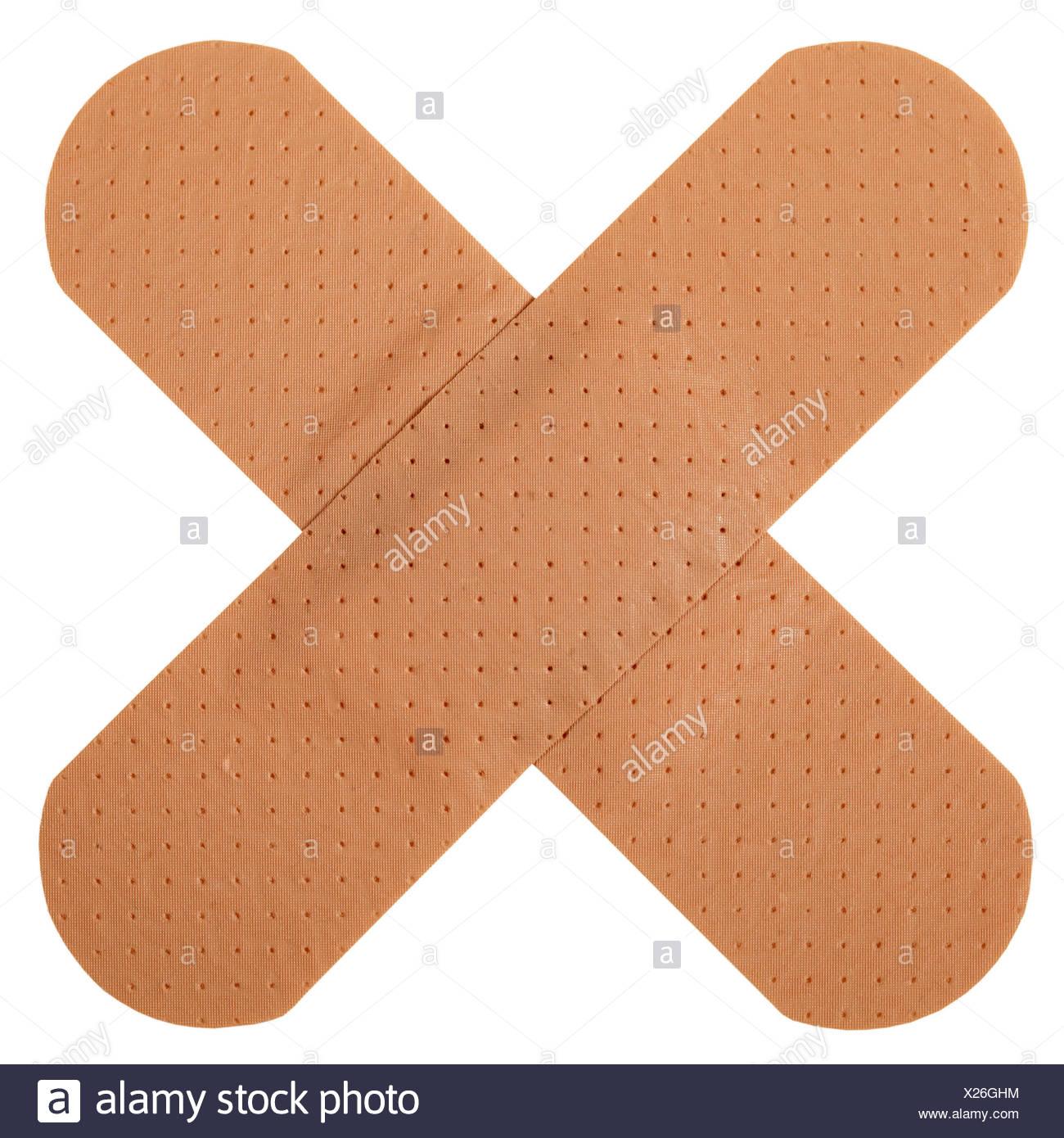 adhesive bandage,plaster Stock Photo