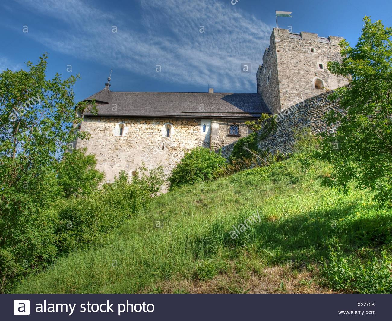 ruin locksmith styria - Stock Image