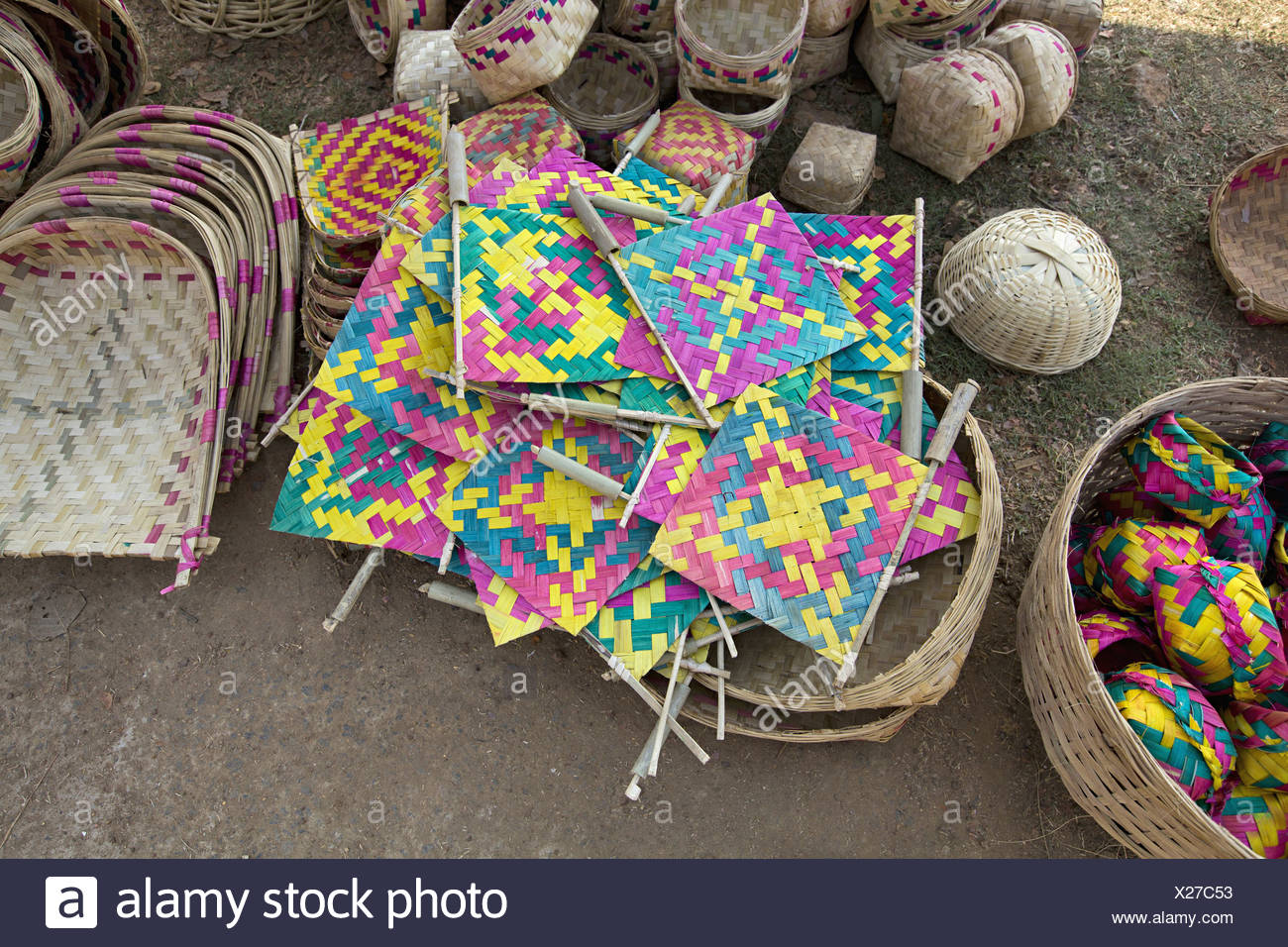 773cee8227c49 Bamboo Fans Stock Photos   Bamboo Fans Stock Images - Alamy
