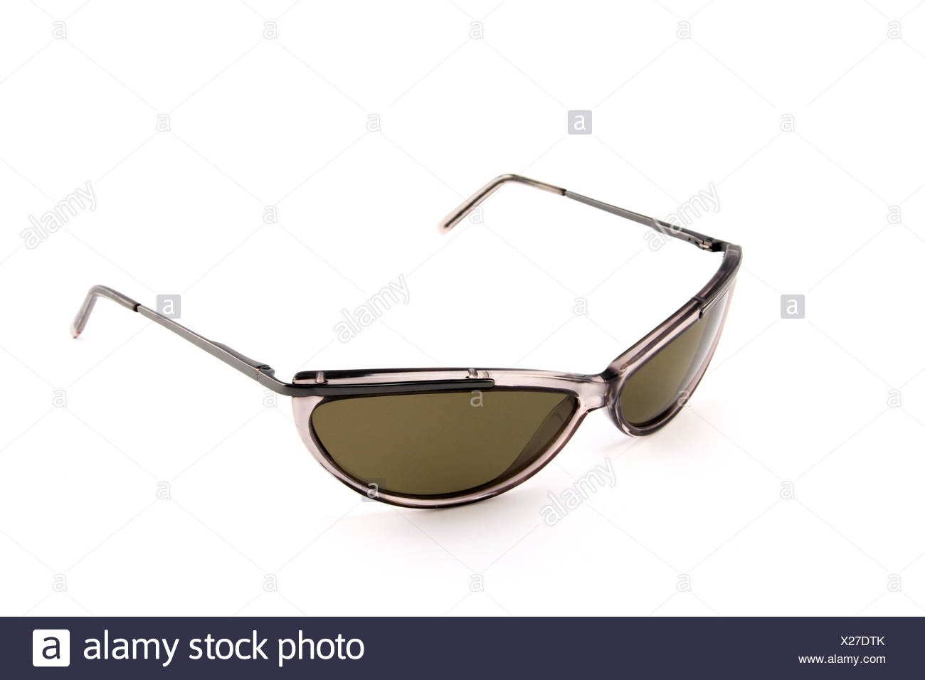 5fc1efcc0aa Brown Sunglasses On White Background Stock Photos   Brown Sunglasses ...