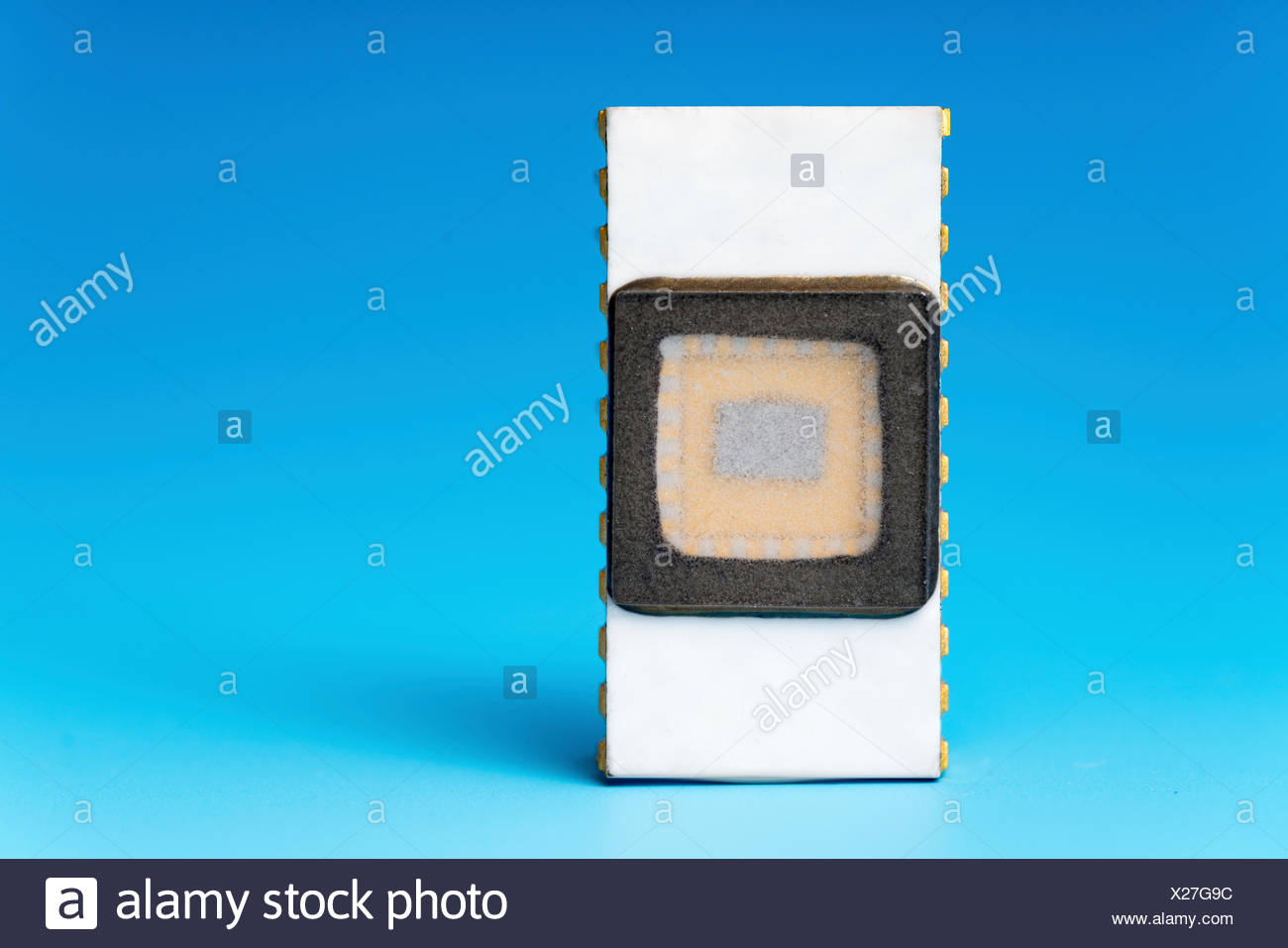 Quantum processor - Stock Image