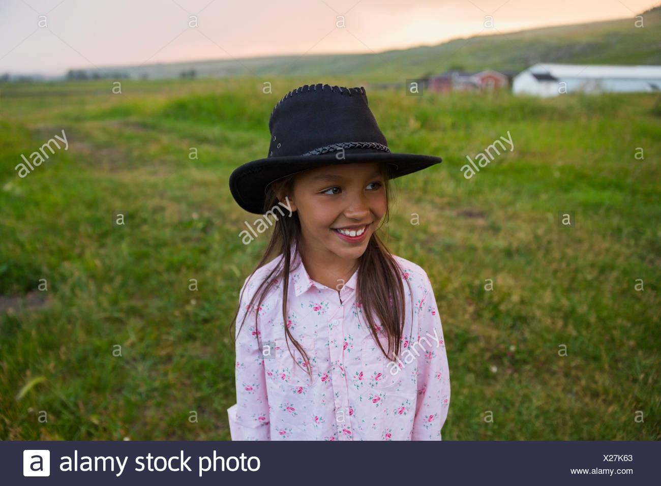 2e46098d03ec8 Black Cowboy Hat Stock Photos   Black Cowboy Hat Stock Images - Alamy
