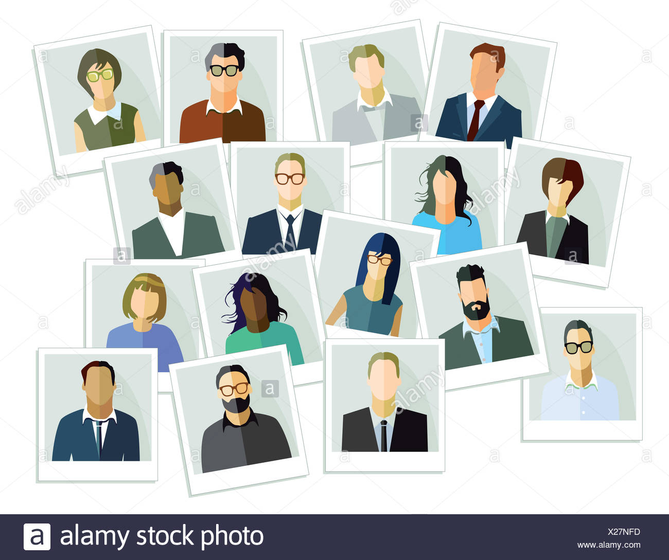 people images - Stock Image