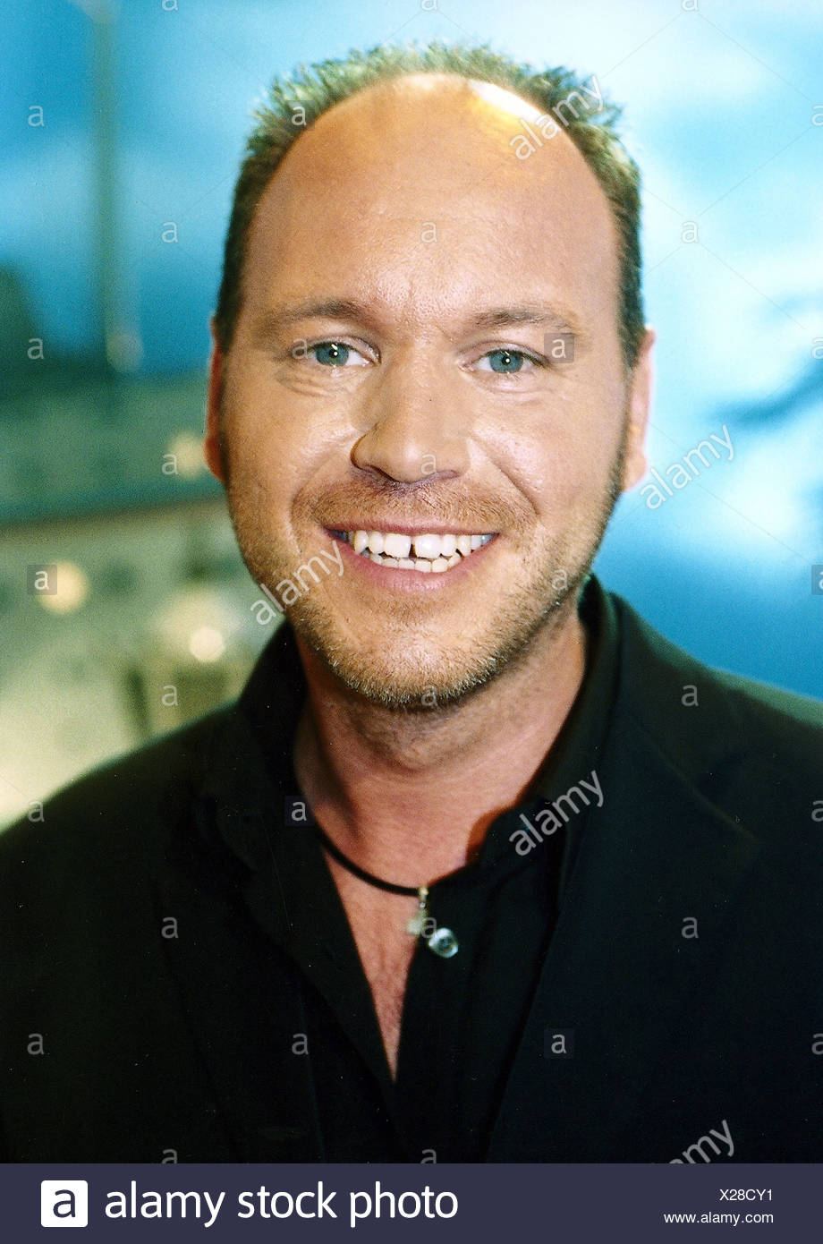 Henning, Olaf, * 14.3.1968, German singer, 'ZDF Sommer Hit Festival', portrait, 2002, Additional-Rights-Clearances-NA - Stock Image