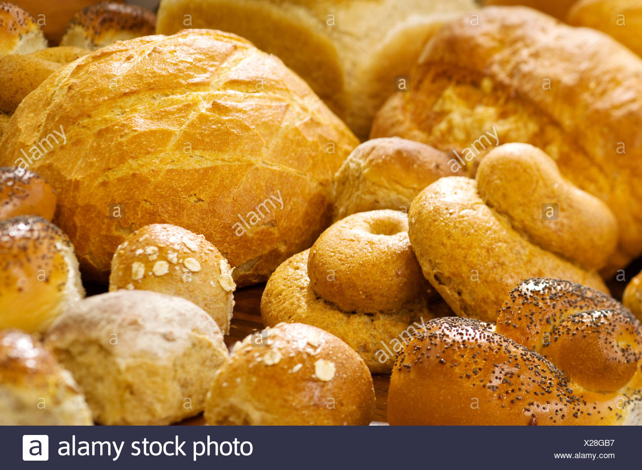 Loaves of bread - Stock Image
