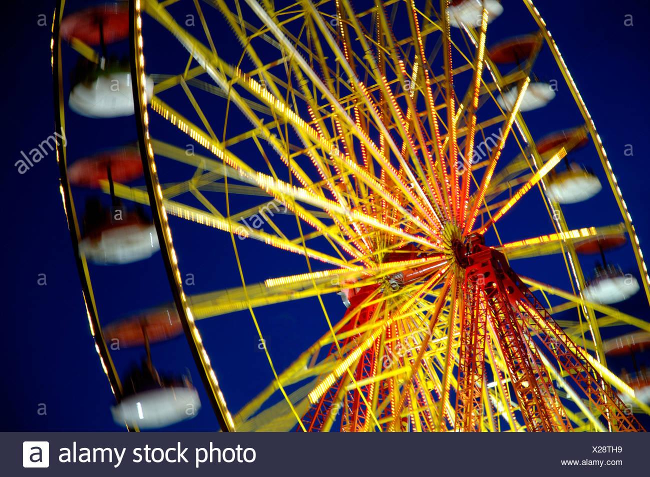 Amusement Parks Stock Photo