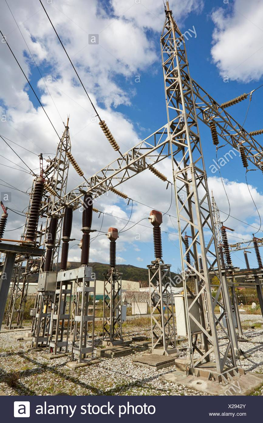 Electrical Substation  Power Electric Laboratory